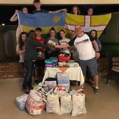 Purbeck School deliver donations to Rwanda