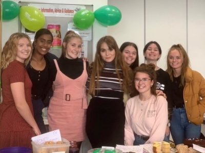 Sixth Form Charity Prefects raise £120 for Macmillan Cancer Support