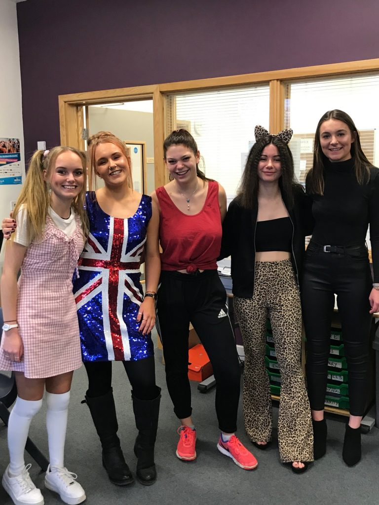 Picture of Sixth Formers head out on their charity dress up day-1