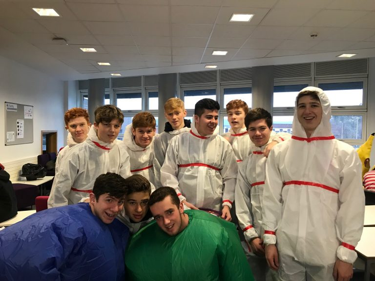 Picture of Sixth Formers head out on their charity dress up day-3