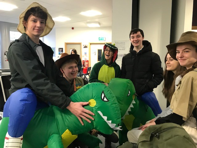 Picture of Sixth Formers head out on their charity dress up day-6