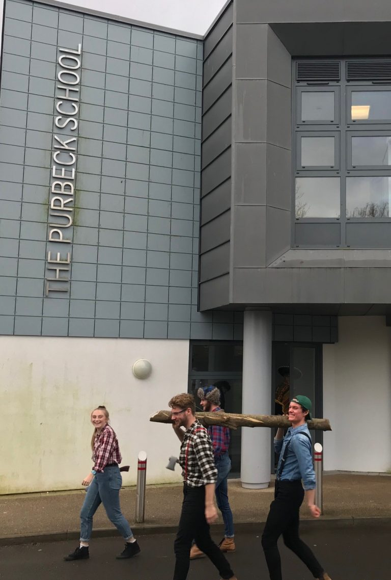 Picture of Sixth Formers head out on their charity dress up day-9