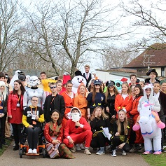 Sixth Form Students in Fancy Dress this Friday for Charity