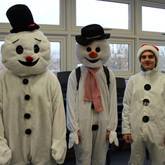 Sixth Form students are dressing up for charity
