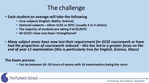 Picture of Year 11 GCSE information evening-Slide2
