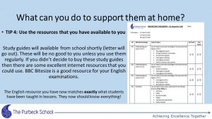 Picture of Year 11 GCSE information evening-Slide31
