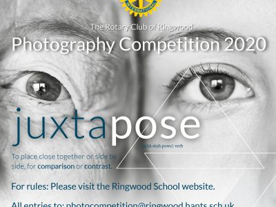 Rotary Interschool Photography Competition 2020 – the launch pack!