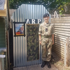 Purbeck Student's Amazing Anderson Shelter Fundraising
