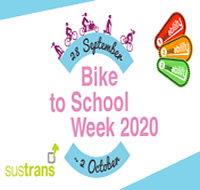 Get ready for Bike To School Week 28th Sept – 2nd Oct 2020