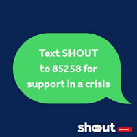 Struggling to cope? Text SHOUT to 85258