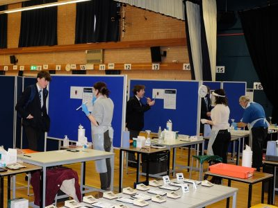 Mass Testing at The Purbeck School