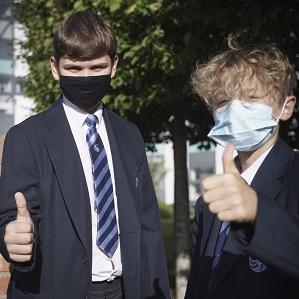 Updated guidance regarding face masks