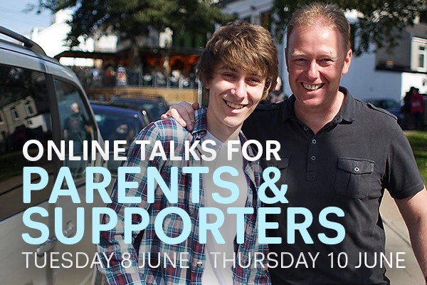 University of Plymouth – Online Talks for Parents & Supporters