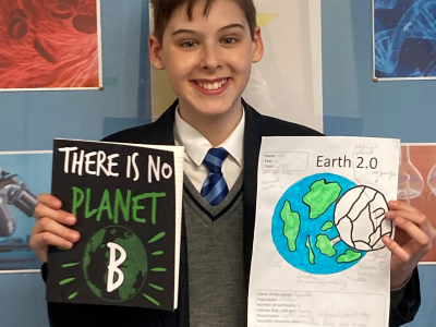 World Earth Day Competition Winner
