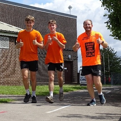 Picture of Purbeck School Complete over 3000 laps of the X-Country for CALM thumb