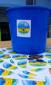 Picture of on the day - bucket and stickers Photo