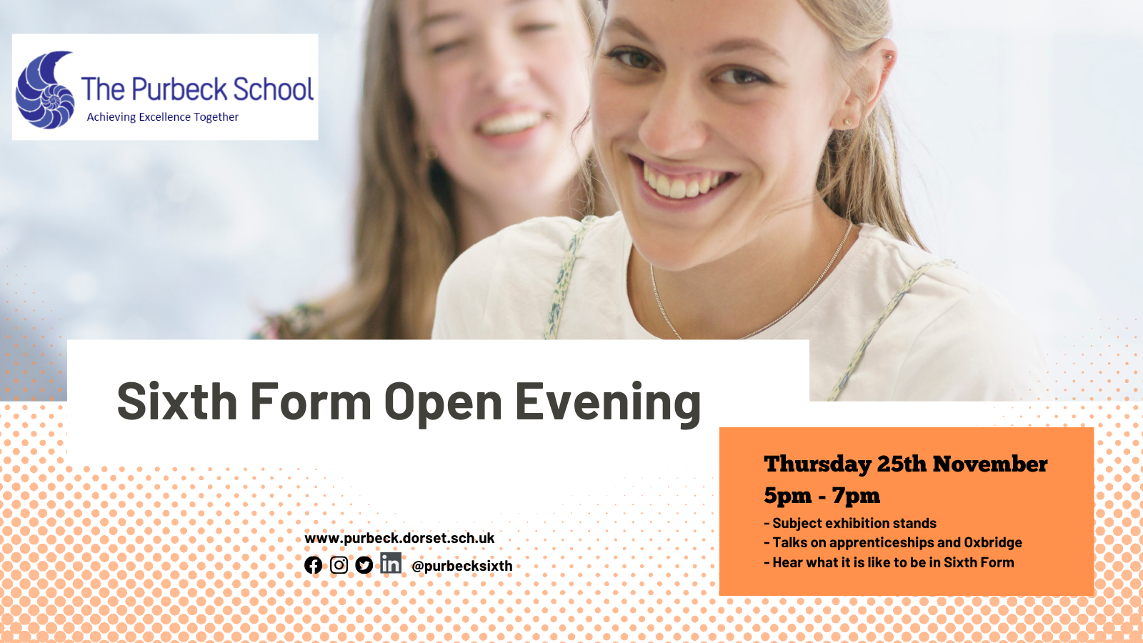 Picture of 6th Form Open Evening@purbecksixth Photo